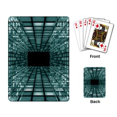 Abstract Perspective Background Playing Card