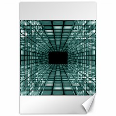 Abstract Perspective Background Canvas 12  X 18