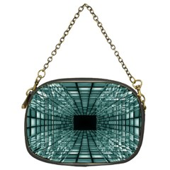 Abstract Perspective Background Chain Purses (two Sides)