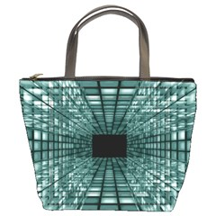 Abstract Perspective Background Bucket Bags