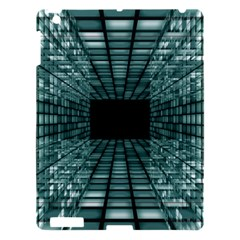 Abstract Perspective Background Apple Ipad 3/4 Hardshell Case