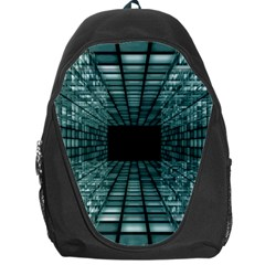 Abstract Perspective Background Backpack Bag