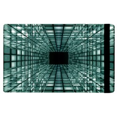Abstract Perspective Background Apple Ipad 2 Flip Case