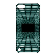 Abstract Perspective Background Apple Ipod Touch 5 Hardshell Case With Stand