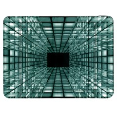 Abstract Perspective Background Samsung Galaxy Tab 7  P1000 Flip Case