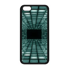Abstract Perspective Background Apple Iphone 5c Seamless Case (black)