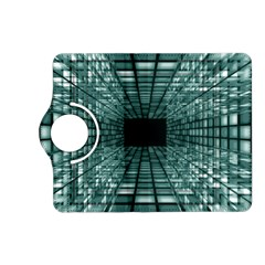 Abstract Perspective Background Kindle Fire Hd (2013) Flip 360 Case