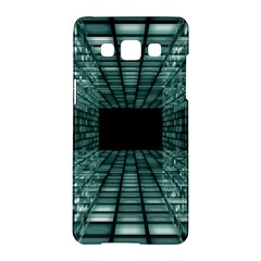Abstract Perspective Background Samsung Galaxy A5 Hardshell Case