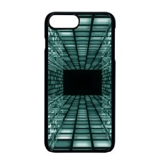 Abstract Perspective Background Apple Iphone 8 Plus Seamless Case (black)