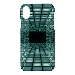 Abstract Perspective Background Apple Iphone X Hardshell Case