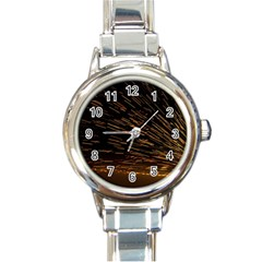 Metalworking Iron Radio Weld Metal Round Italian Charm Watch