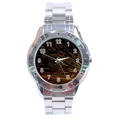 Metalworking Iron Radio Weld Metal Stainless Steel Analogue Watch