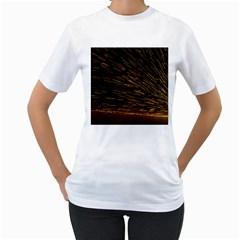 Metalworking Iron Radio Weld Metal Women s T Shirt (white)