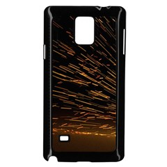 Metalworking Iron Radio Weld Metal Samsung Galaxy Note 4 Case (black)