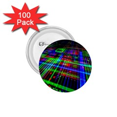 Electronics Board Computer Trace 1 75  Buttons (100 Pack)