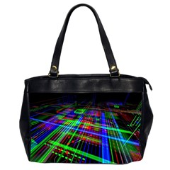 Electronics Board Computer Trace Office Handbags (2 Sides)