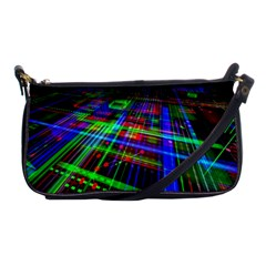 Electronics Board Computer Trace Shoulder Clutch Bags