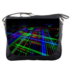 Electronics Board Computer Trace Messenger Bags