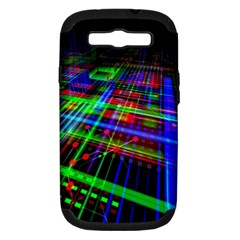 Electronics Board Computer Trace Samsung Galaxy S Iii Hardshell Case (pc+silicone)
