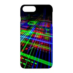 Electronics Board Computer Trace Apple Iphone 8 Plus Hardshell Case