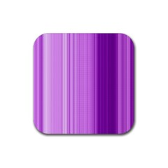Background Texture Pattern Purple Rubber Square Coaster (4 Pack)
