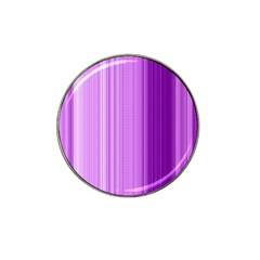 Background Texture Pattern Purple Hat Clip Ball Marker (10 Pack)