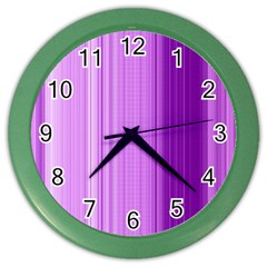 Background Texture Pattern Purple Color Wall Clocks