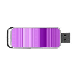 Background Texture Pattern Purple Portable Usb Flash (two Sides)