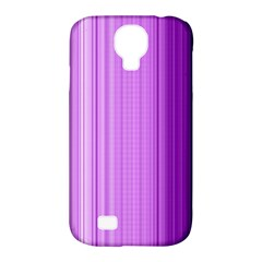 Background Texture Pattern Purple Samsung Galaxy S4 Classic Hardshell Case (pc+silicone)