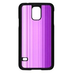 Background Texture Pattern Purple Samsung Galaxy S5 Case (black)