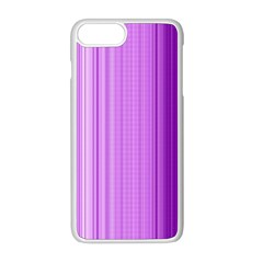 Background Texture Pattern Purple Apple Iphone 8 Plus Seamless Case (white)