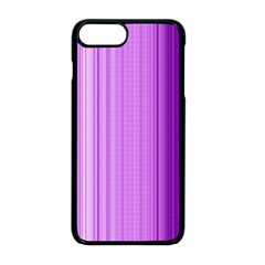 Background Texture Pattern Purple Apple Iphone 8 Plus Seamless Case (black)