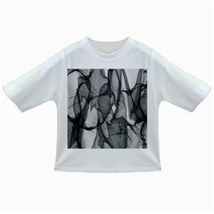 Abstract Black And White Background Infant/toddler T Shirts