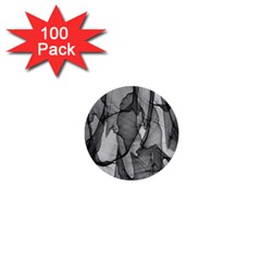 Abstract Black And White Background 1  Mini Buttons (100 Pack)