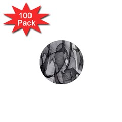 Abstract Black And White Background 1  Mini Magnets (100 Pack)