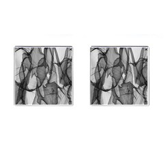 Abstract Black And White Background Cufflinks (square)