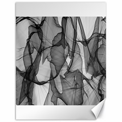 Abstract Black And White Background Canvas 18  X 24