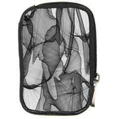 Abstract Black And White Background Compact Camera Cases