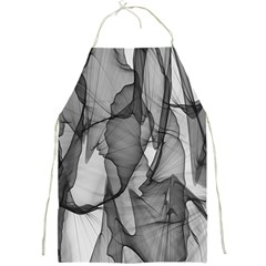 Abstract Black And White Background Full Print Aprons