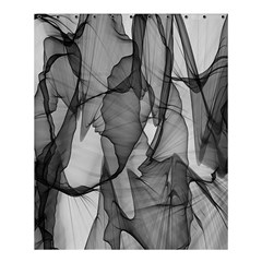 Abstract Black And White Background Shower Curtain 60  X 72  (medium)