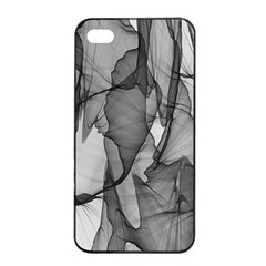 Abstract Black And White Background Apple Iphone 4/4s Seamless Case (black)