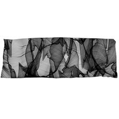Abstract Black And White Background Body Pillow Case Dakimakura (two Sides)