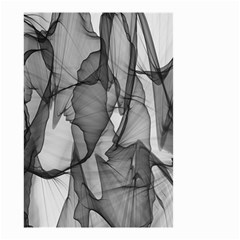 Abstract Black And White Background Small Garden Flag (two Sides)