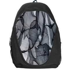 Abstract Black And White Background Backpack Bag