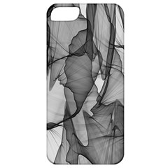 Abstract Black And White Background Apple Iphone 5 Classic Hardshell Case