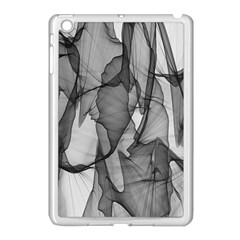 Abstract Black And White Background Apple Ipad Mini Case (white)