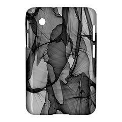 Abstract Black And White Background Samsung Galaxy Tab 2 (7 ) P3100 Hardshell Case