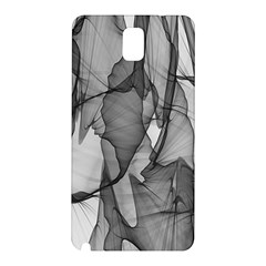 Abstract Black And White Background Samsung Galaxy Note 3 N9005 Hardshell Back Case