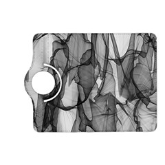 Abstract Black And White Background Kindle Fire Hd (2013) Flip 360 Case