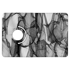 Abstract Black And White Background Kindle Fire Hdx Flip 360 Case